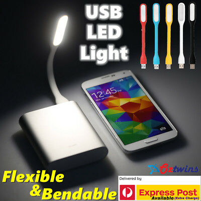 USB LED Light Bendable Flexible Lamp for Computer Laptop Camping Reading Car PC