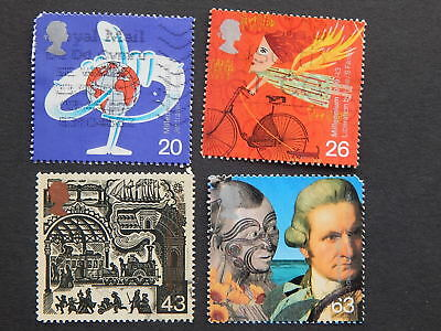 gb stamps s g 2073-2076. Millennium Series. The Travellers Tale.