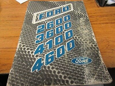 Ford 2600/3600/4100/4600 Operator's Manual