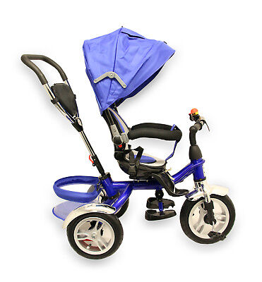 New Kids Tricycle 3Wheels Bike Children Ride On Trike With Parent Handle Control
