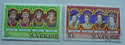 2 stamps from St.Vincent issued 1977 used