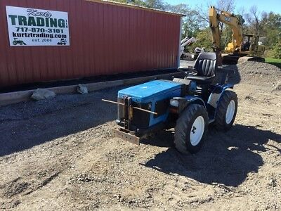 2005 Antonio Carraro TTR440 HST 4x4 Vineyard Tractor!