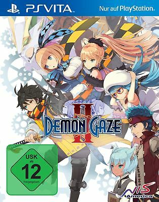 Demon Gaze 2 (Playstation Vita) (Neu&OVP)