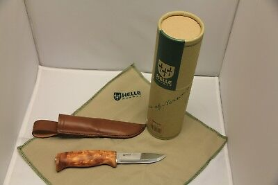 Helle Norway Fjellkniven Knife- New In Box