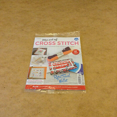 The Art Of Cross Stitch Issue 42 With 2 Skeins Of Thread 12 Stitching Charts