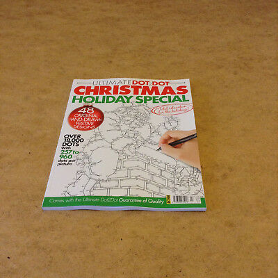 Ultimate Dot-2-Dot Issue 7 Christmas Holiday Special Adult Dot-To-Dot 48 Designs