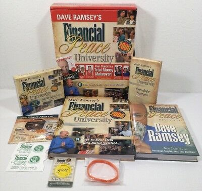 Dave Ramsey Financial Peace University Budget Kit 2006