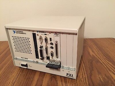 National Instruments PXI-8156B PXI/cPCI Embedded Controller in PXI-1002 Chasis