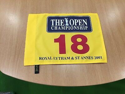 The Open Championship 2001 Pin Flag Royal Lytham & St Annes