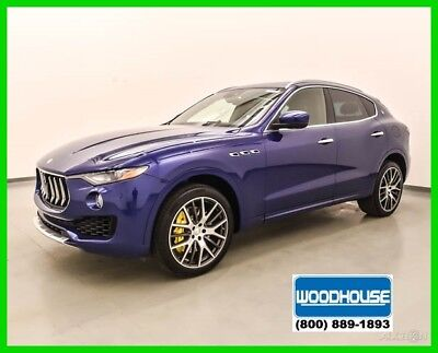 2017 Maserati Levante S 2017 S New Turbo 3L V6 24V Automatic AWD Premium
