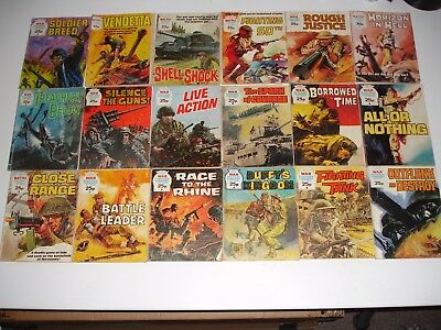 Battle & War Picture Library mix of 29 issues