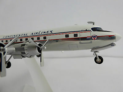 Continental United Airline Douglas DC-6B 1/200 Herpa 556156 DC-6 DC6 McDonnell