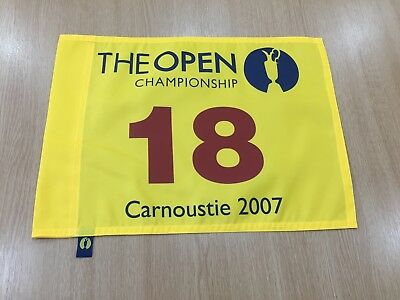 The Open Championship 2007 Pin Flag Carnoustie