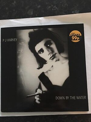 """PJ HARVEY DOWN BY THE WATER  7""""record"""