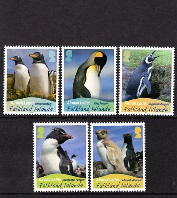 FALKLAND Is 2010 Penguins Airmail NVI issues MINT NH