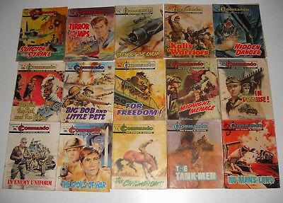 Commando & Battle Picture Library mix of 30 issues