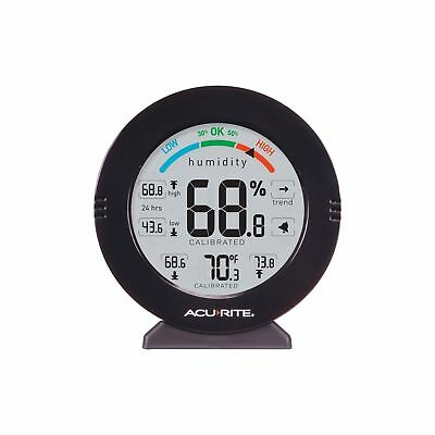AcuRite 01080M Pro Accuracy Temperature and Humidity Monitor with Alarms New