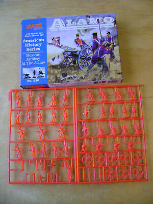 IMEX Mexican Artillery at The Alamo. 1:72 Scale. Boxed and on Sprues.American