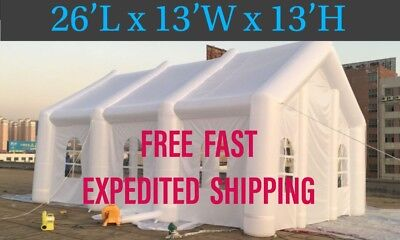 Inflatable 26'L x 13'W x 13'H Event Tent.  Wedding, Special Events, Party