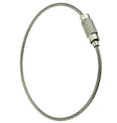 Stainless Steel Wire Cable Keyring