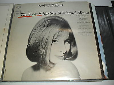 Barbra Streisand The Second Barbra Streisand Album CBS Vinyl LP Schallplatte