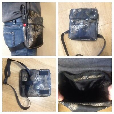 """Camo bag for metal detecting finds/fishing/hunting. """"Snake"""""""