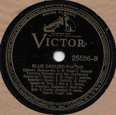 "78er Jazz Swing Tommy Dorsey Orchestra ""Dark Eyes"""