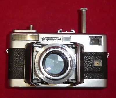 Vintage Voigtländer Vitessa Barn Door WITH ULTRON F2 lens Rangefinder Camera