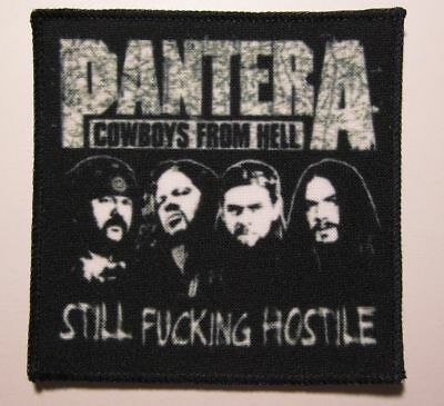 PANTERA Cowboys From Hell printed NEW patch