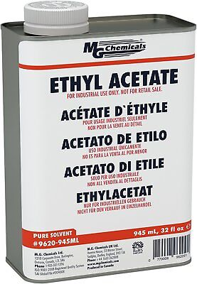 MG Chemicals Ethyl Acetate, 945 mL Metal Can