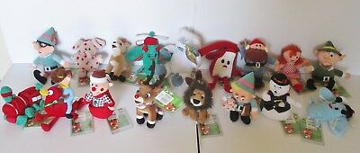 Cvs Rudolph Misfits Stuffins  Lot Of 17  New With Tags  Elephant Doll Etc.