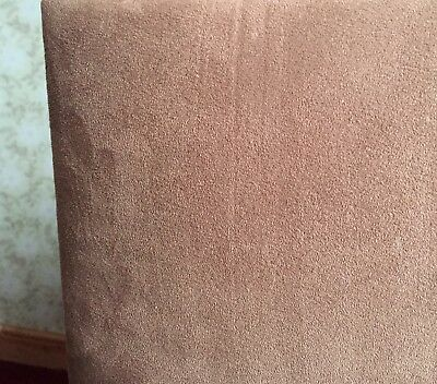 British Hydro bed Waterbed By BWC Mocha Suede effect King size 5' soft side