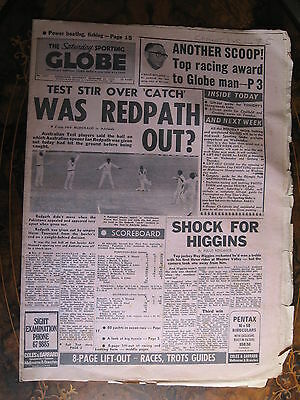 Sporting Globe DEC 23 1972 Was Redpath OUT