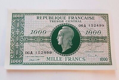 France 1000 Francs Marianne - 1945 Lettre 06A - 152499