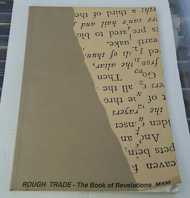 Rough Trade The Book of Revelations MXM 1990 Book Catalogue Illustrated RARE