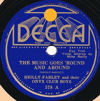 "78er Jazz Swing Reilly-Farley Onyx Club Boys ""The Music Goes 'Round and Around"""