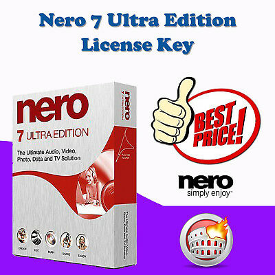 Nero 7 Ultra Edition  ✅ Product Key ✅ Digital Delivery