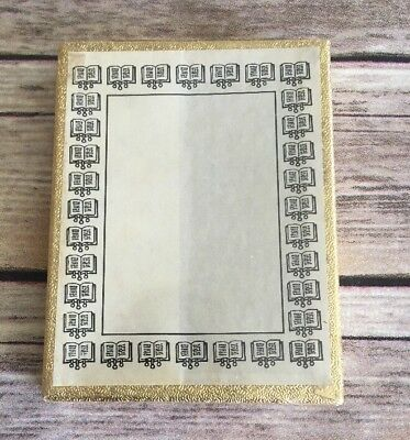Vintage Bookplates Book Border Antioch Bookplate Company Yellowsprings OH (BinM)