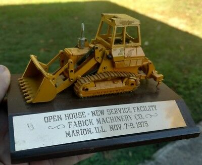 Fabick Machinery Co. Caterpillar Marion Il Open House Nov 7-9 1975 Rare Item***