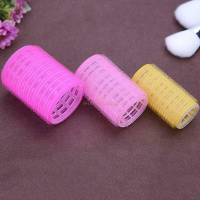 15pcs/set Hair Curler Hair Care DIY Roll Self-Adhesive Hair Roller Curling Tools