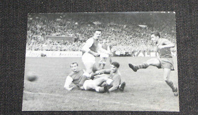 Football Photo Presse Stade Francais V Stade Reims Championnat De France 1960