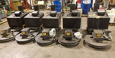 1 Lot Floor Burnishers by NSS Charger 2717DB