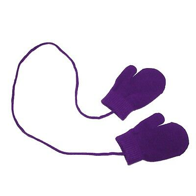 New Dorfman Pacific Toddler Stretch Mittens on a String