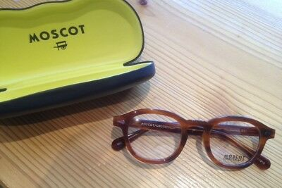 moscot lemtosh blonde glasses small rrp 220 vintage sunglasses