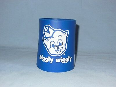 Piggly Wiggly Drink Coozie-Blue************new With Tag--Free Shipment