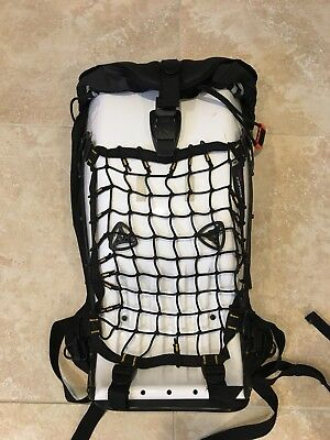 Boblbee Megalopolis Hard Shell Backpack Lumbar Support Motorcycle Pack WHITE