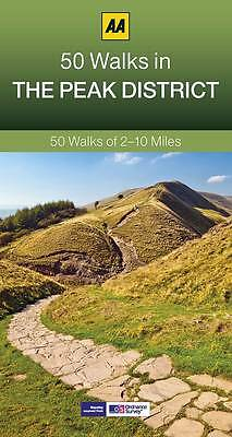 50 Walks in Peak District by AA Publishing NEW BOOK (Paperback, 2013) SALE