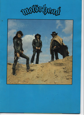 """Motorhead 1980 Ace Up Your Sleeve Tour """"Official Programme"""" - Very Rare"""