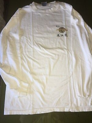 Authentic Signed Sammo Hung Martial Law Long Sleeve T-Shirt Size Adult Large