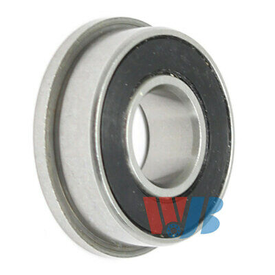 Miniature Ball Flanged Bearing 8x19x6mm WJB F698-2RS with 2 Rubber Seals